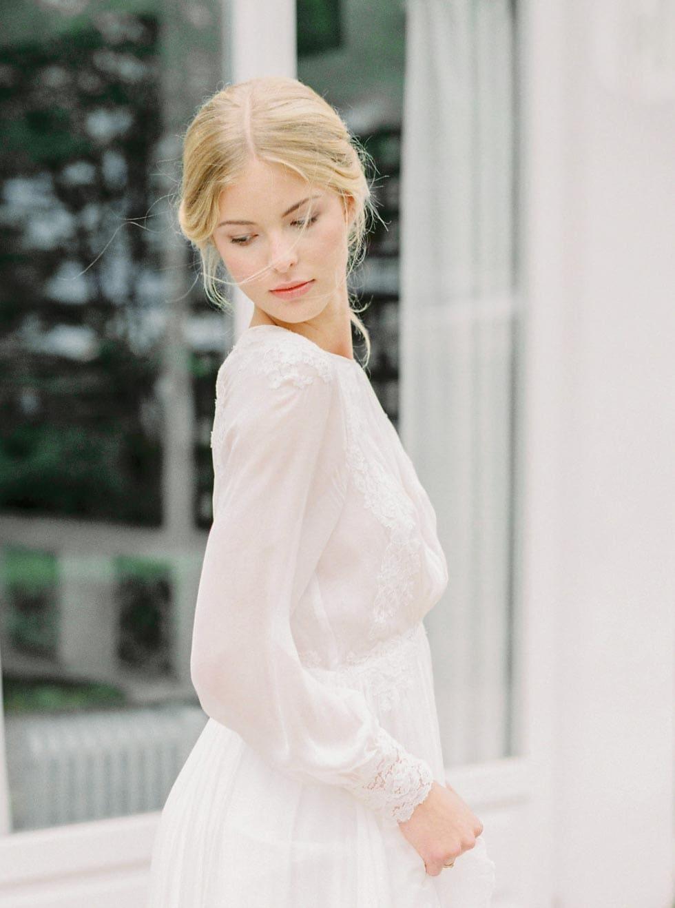Brautstyling Hochsteckfrisur