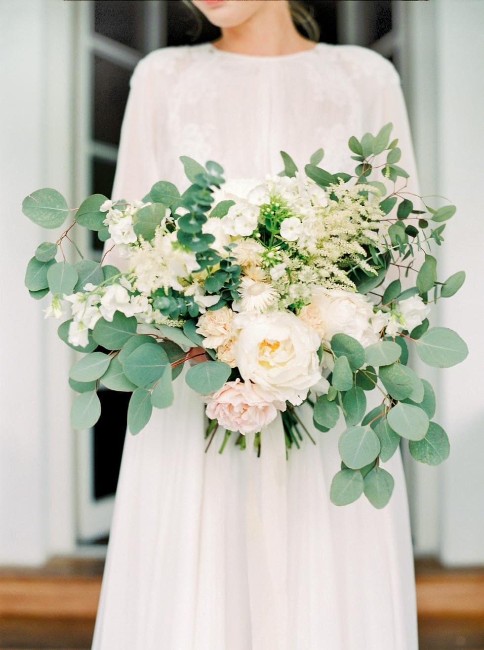 Brautstrauß Eukalyptus