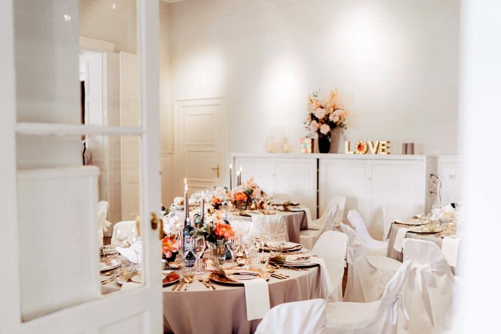 Hochzeit in der Villa