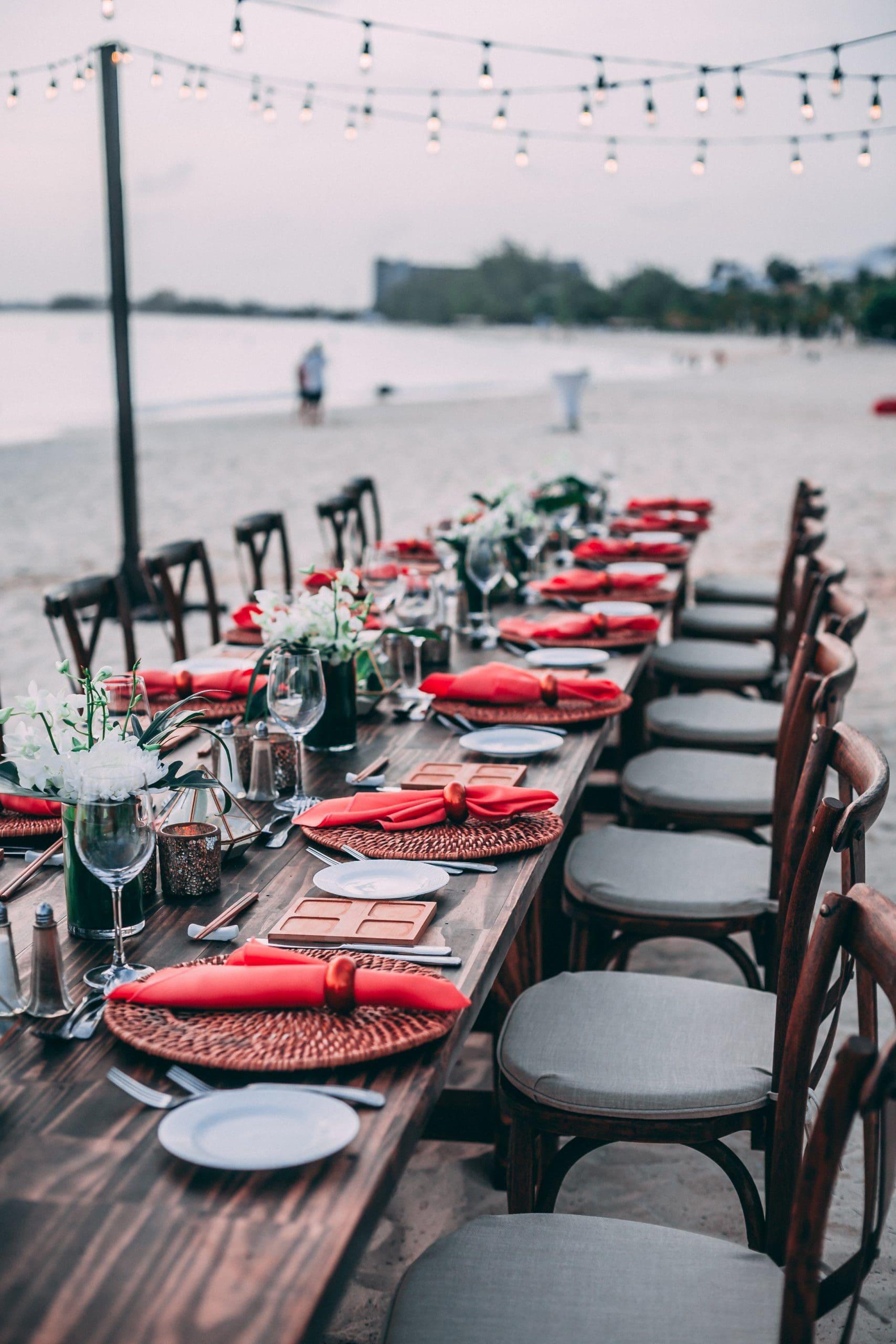 Hochzeitslocation Strand