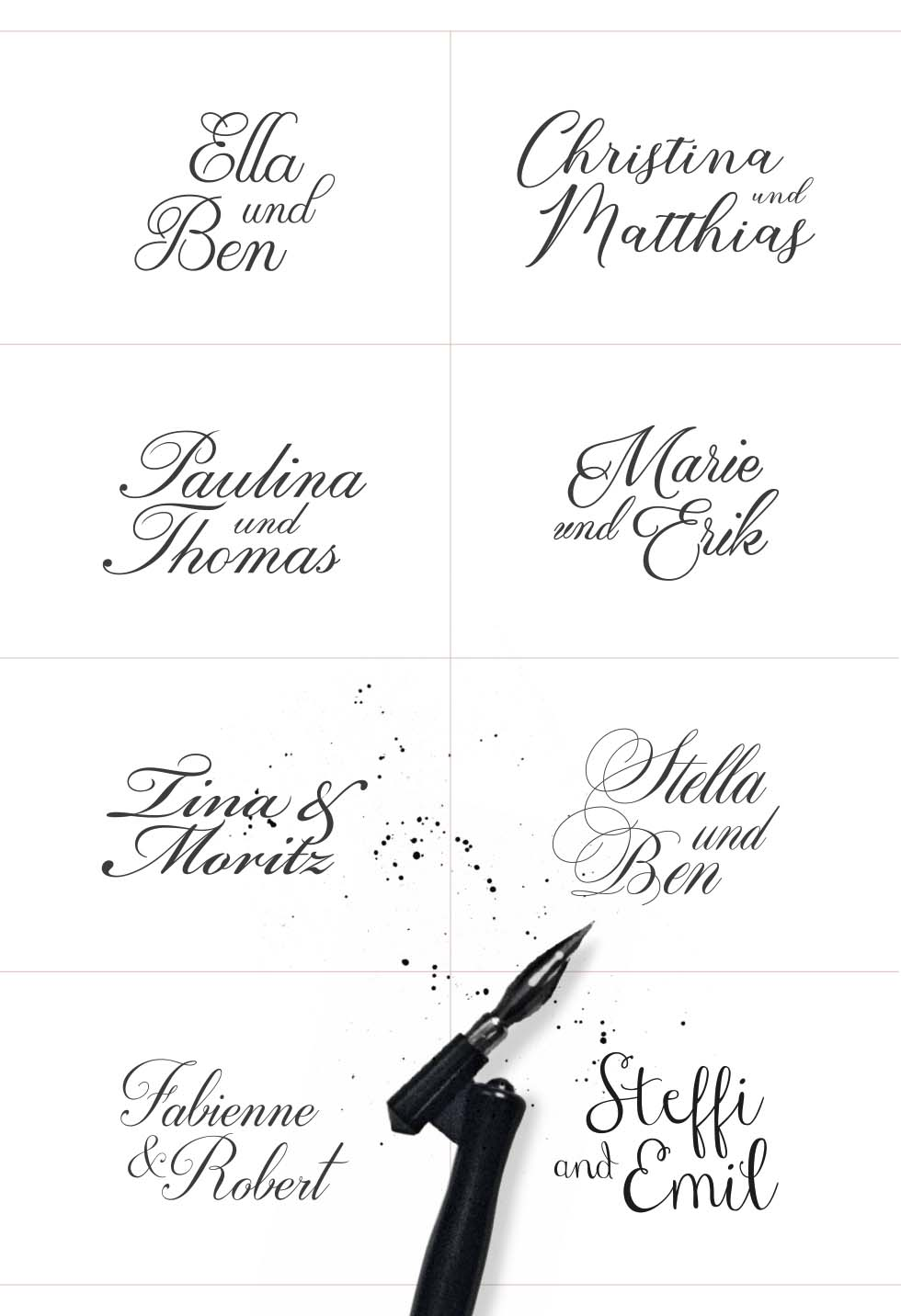 Free Fonts Calligraphie