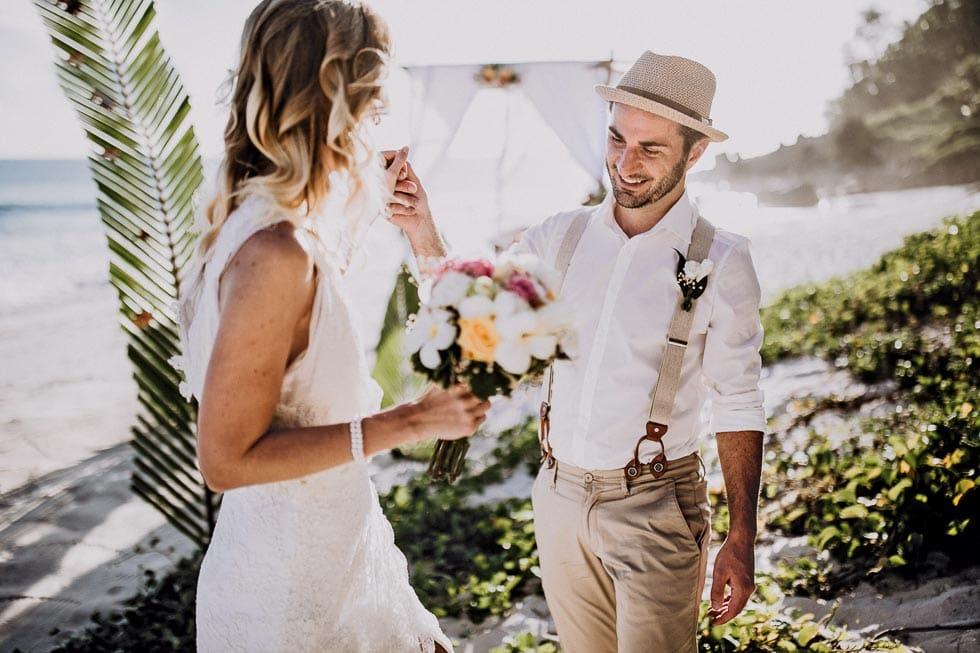 Elopement Hochzeit  am Strand