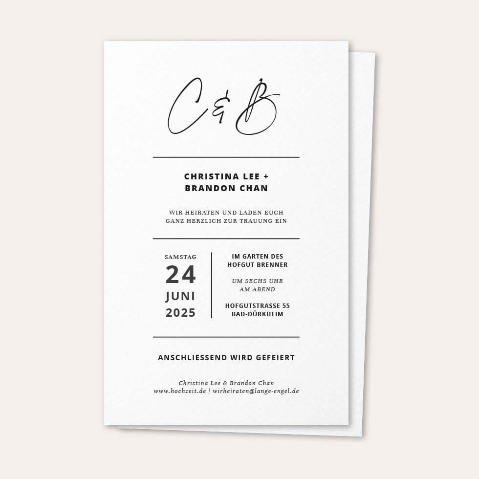 Hochzeitseinladung Vorlage Word