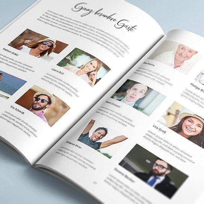 Hochzeitszeitung Ideen Beiträge Gäste