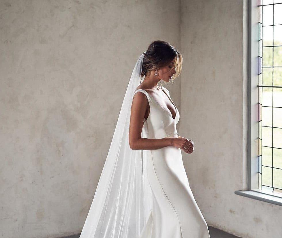 Brautschleier Tüll Anna Campbell