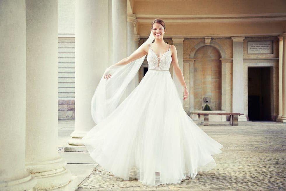 Brautschleier Lilly