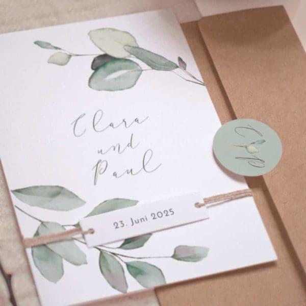 Hochzeitseinladung cottonbird.de