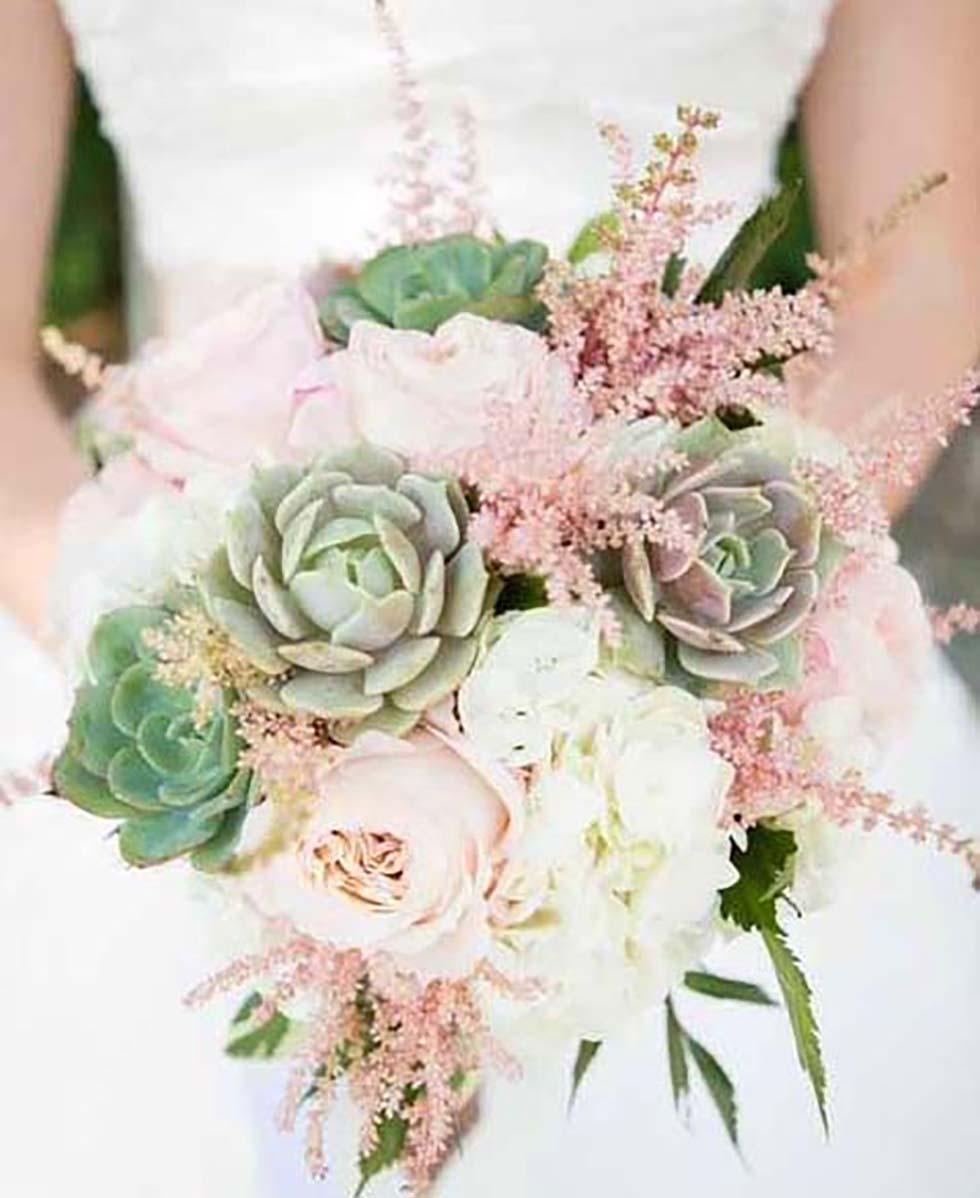 Hochzeitsblumen Astilbe