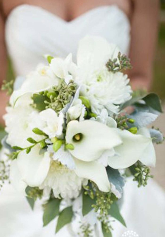 Hochzeitsblumen Brautstrauß Calla