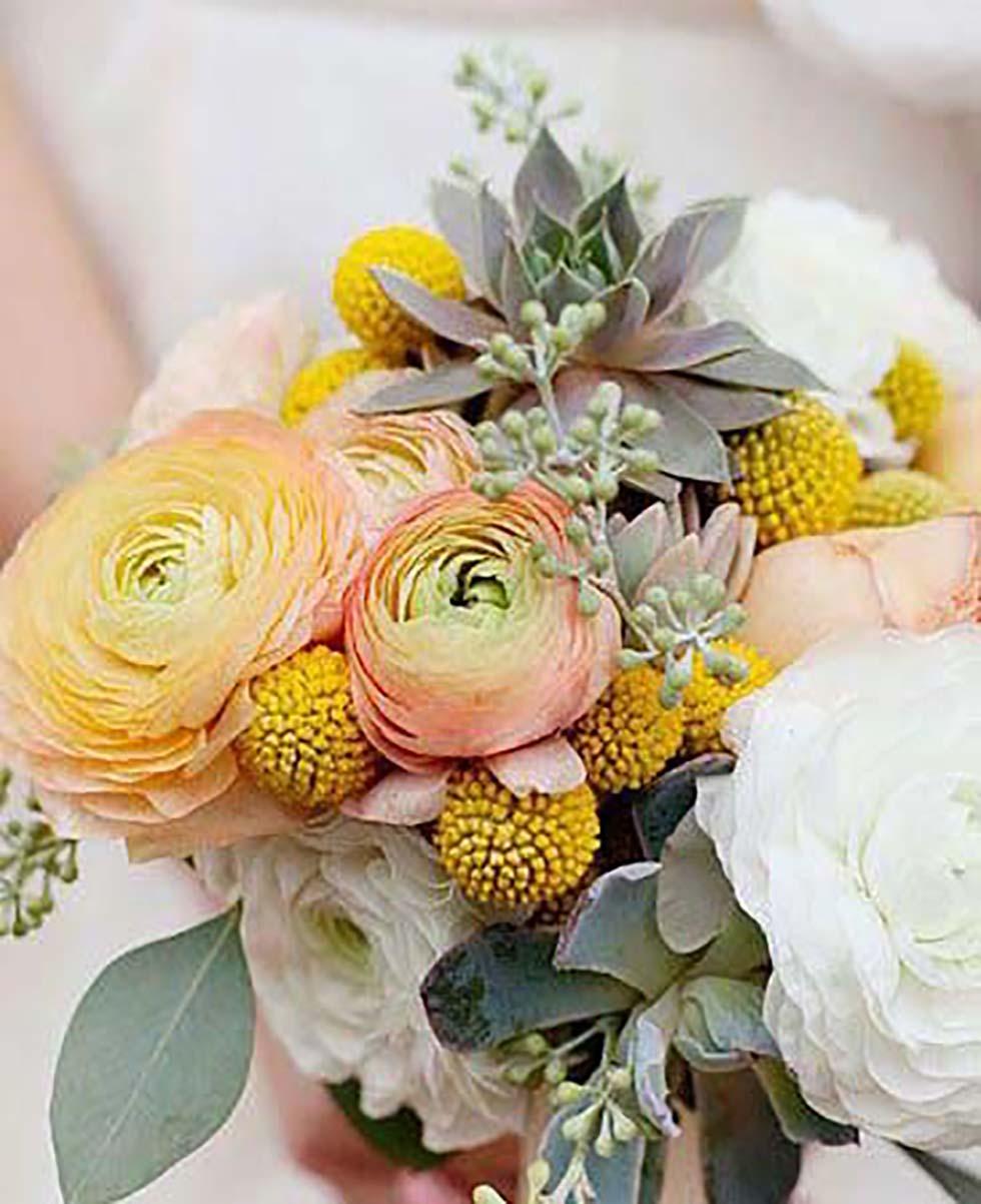 Hochzeitsblumen Craspedien