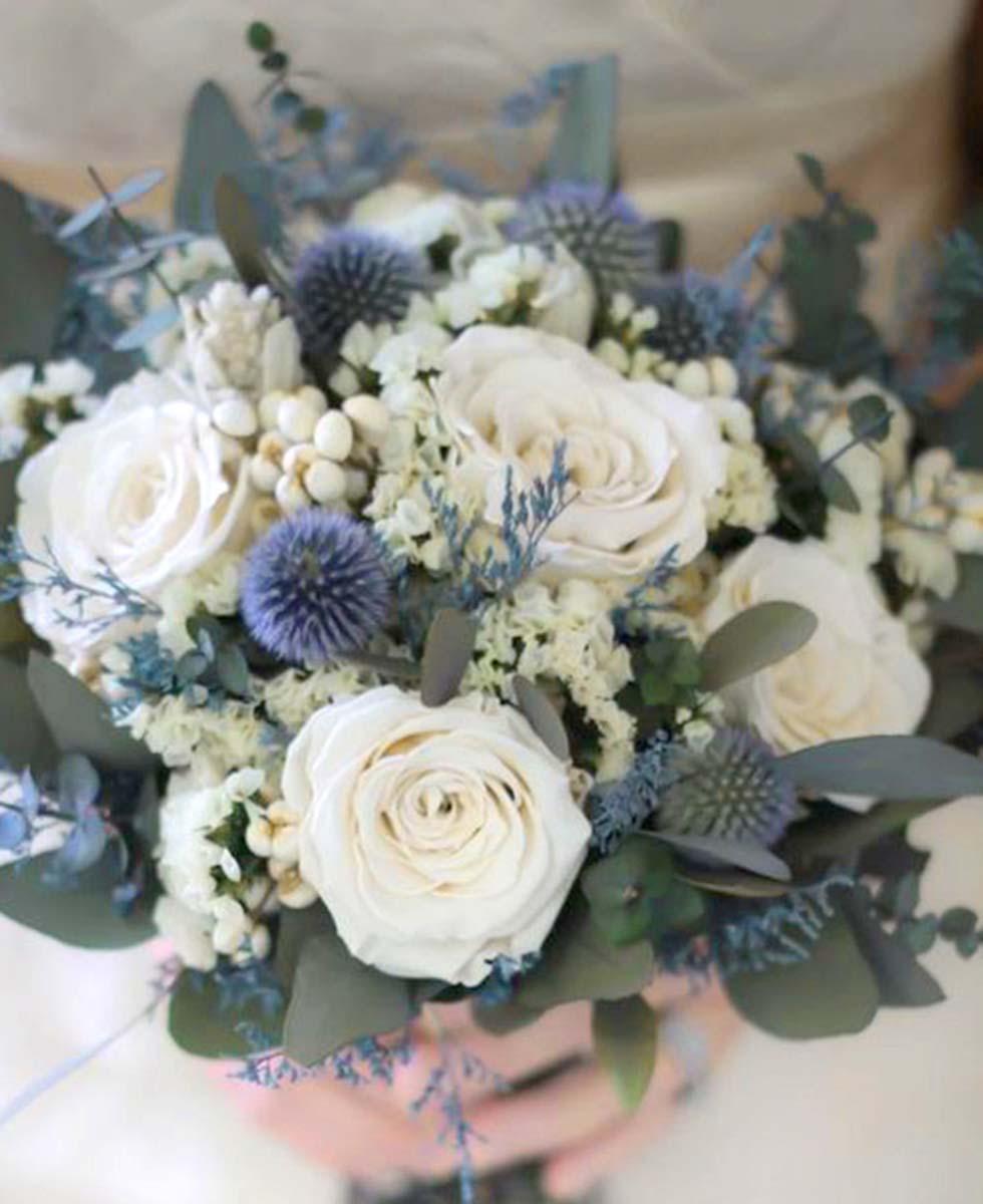 Hochzeitsblumen Distel