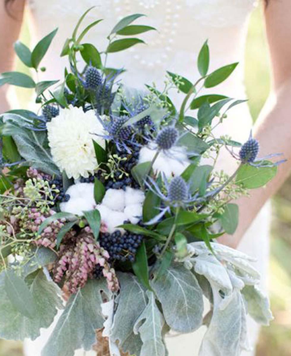 Hochzeitsblumen Edeldistel