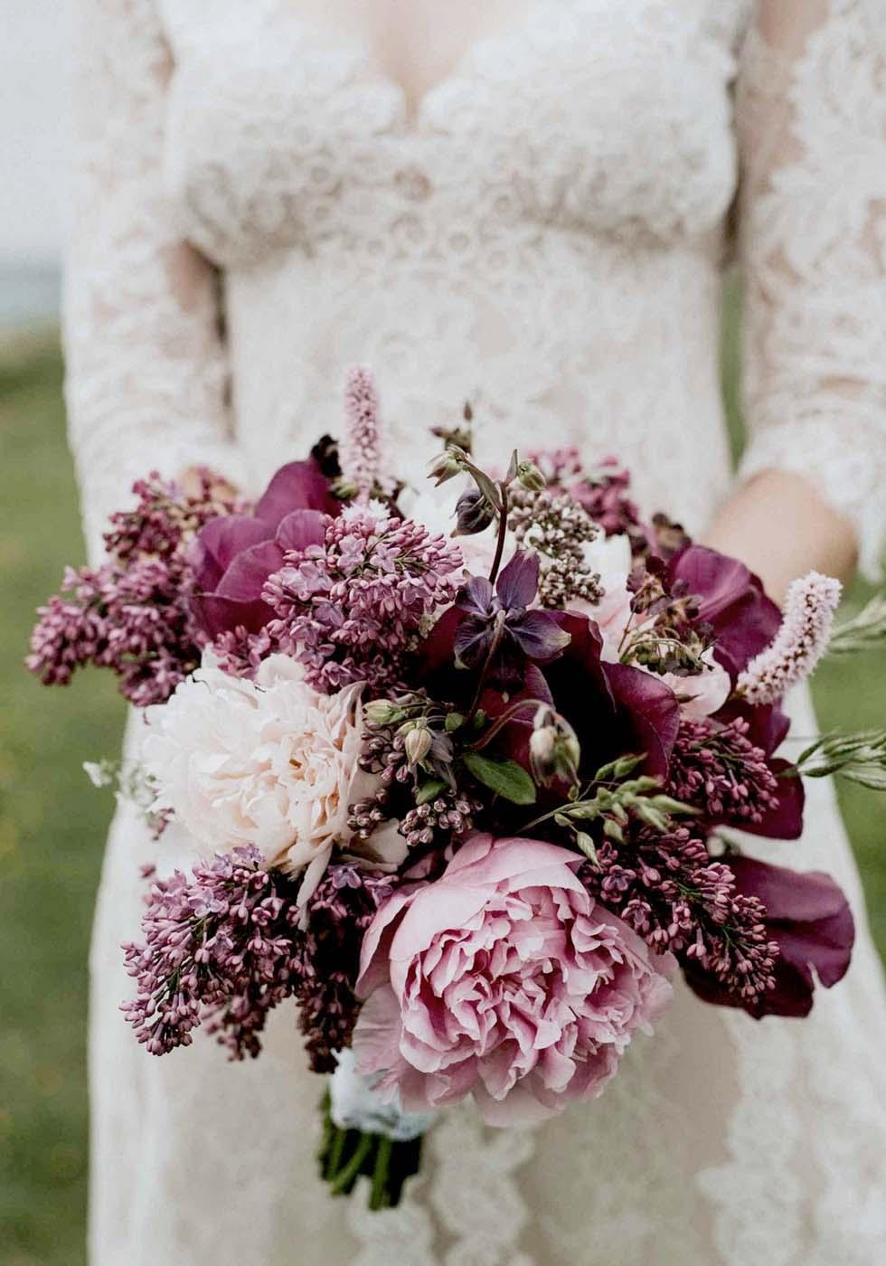 Hochzeitsblumen Flieder