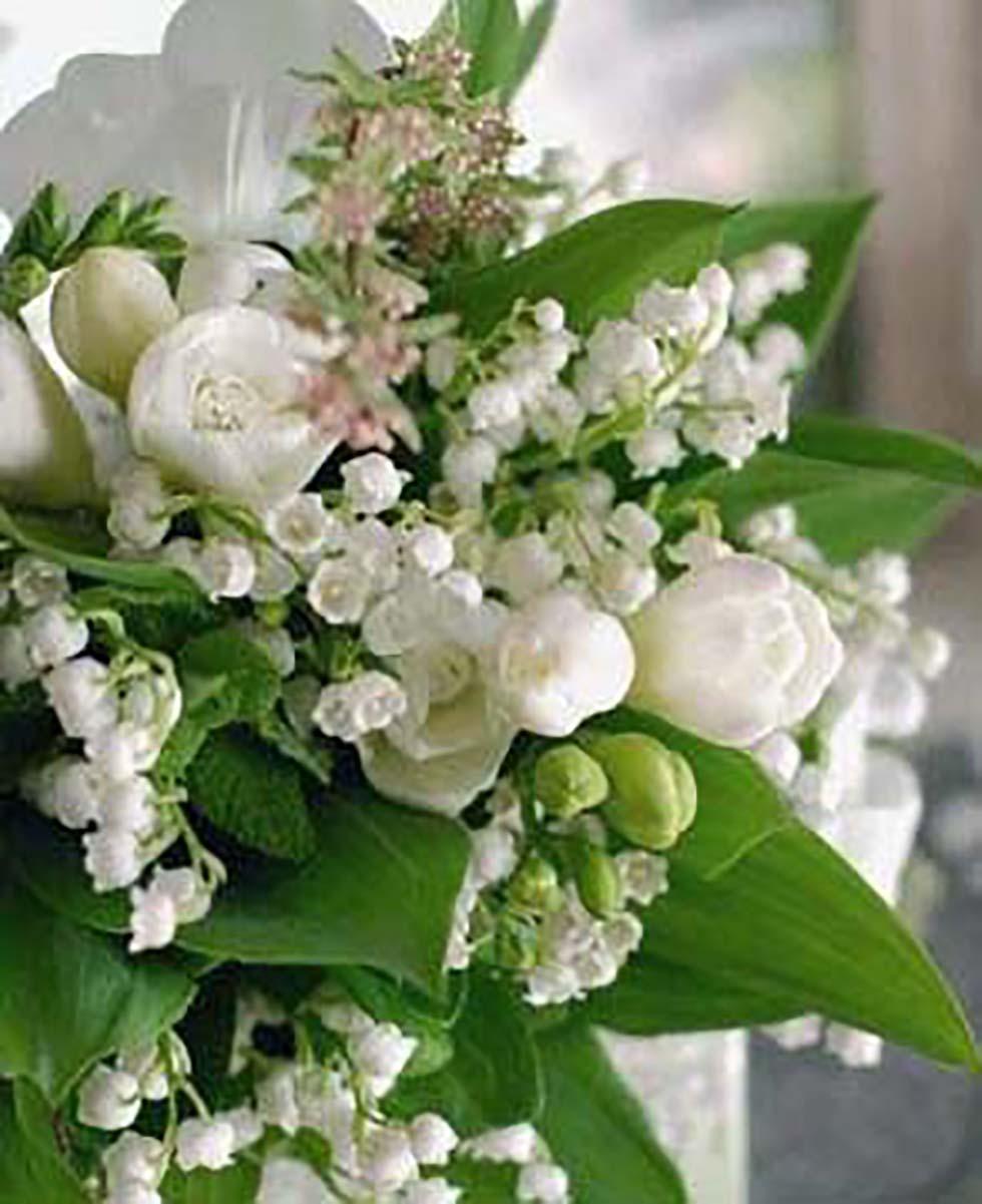 Hochzeitsblumen Maiglöckchen