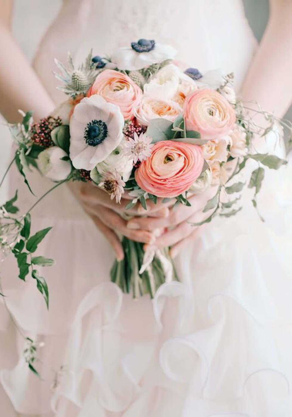 Hochzeitsblumen Ranunkel