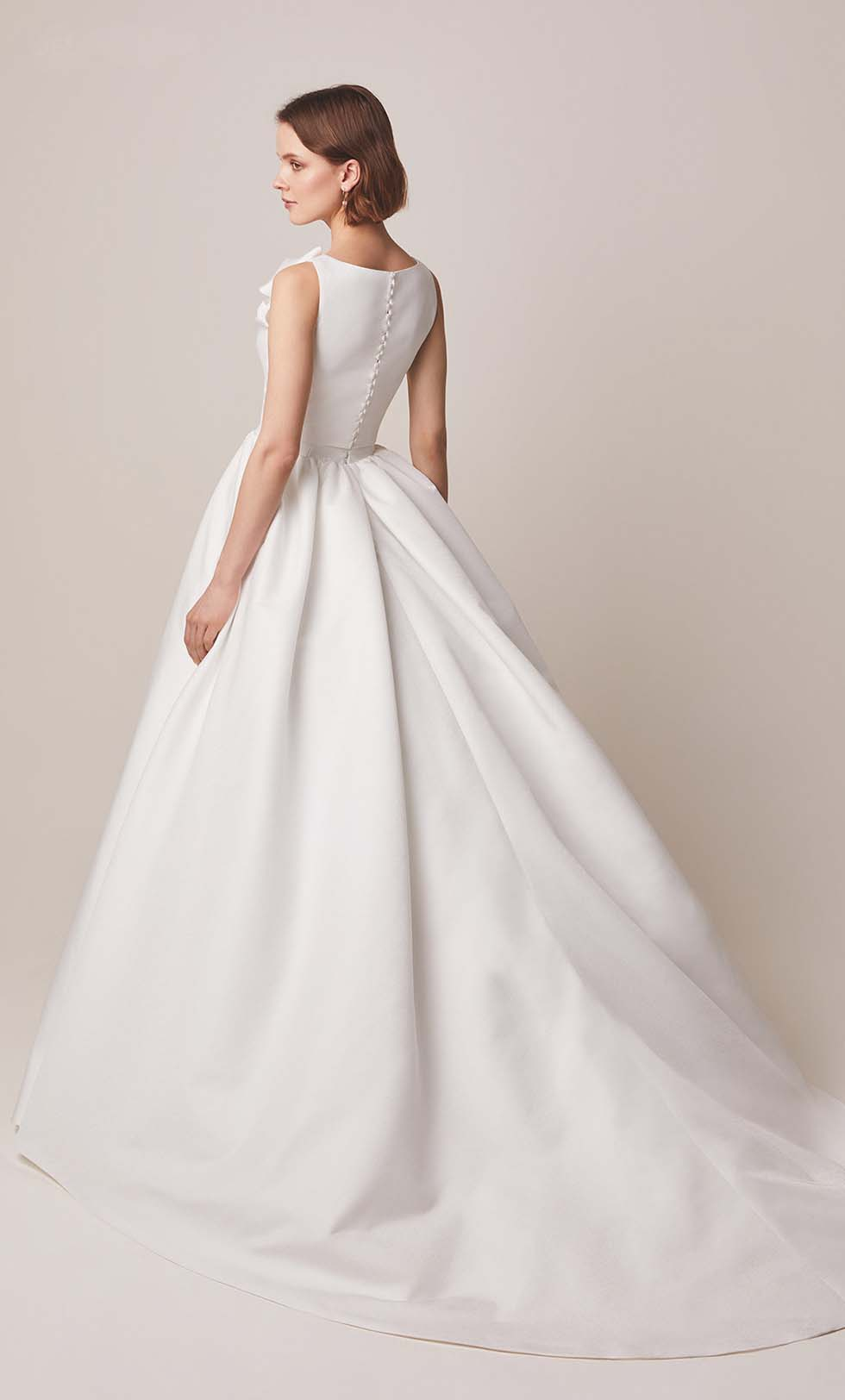 Brautkleid Prinzessin Stil Jesús Peiró