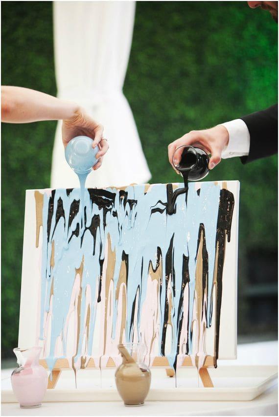 Hochzeitsritual Farben