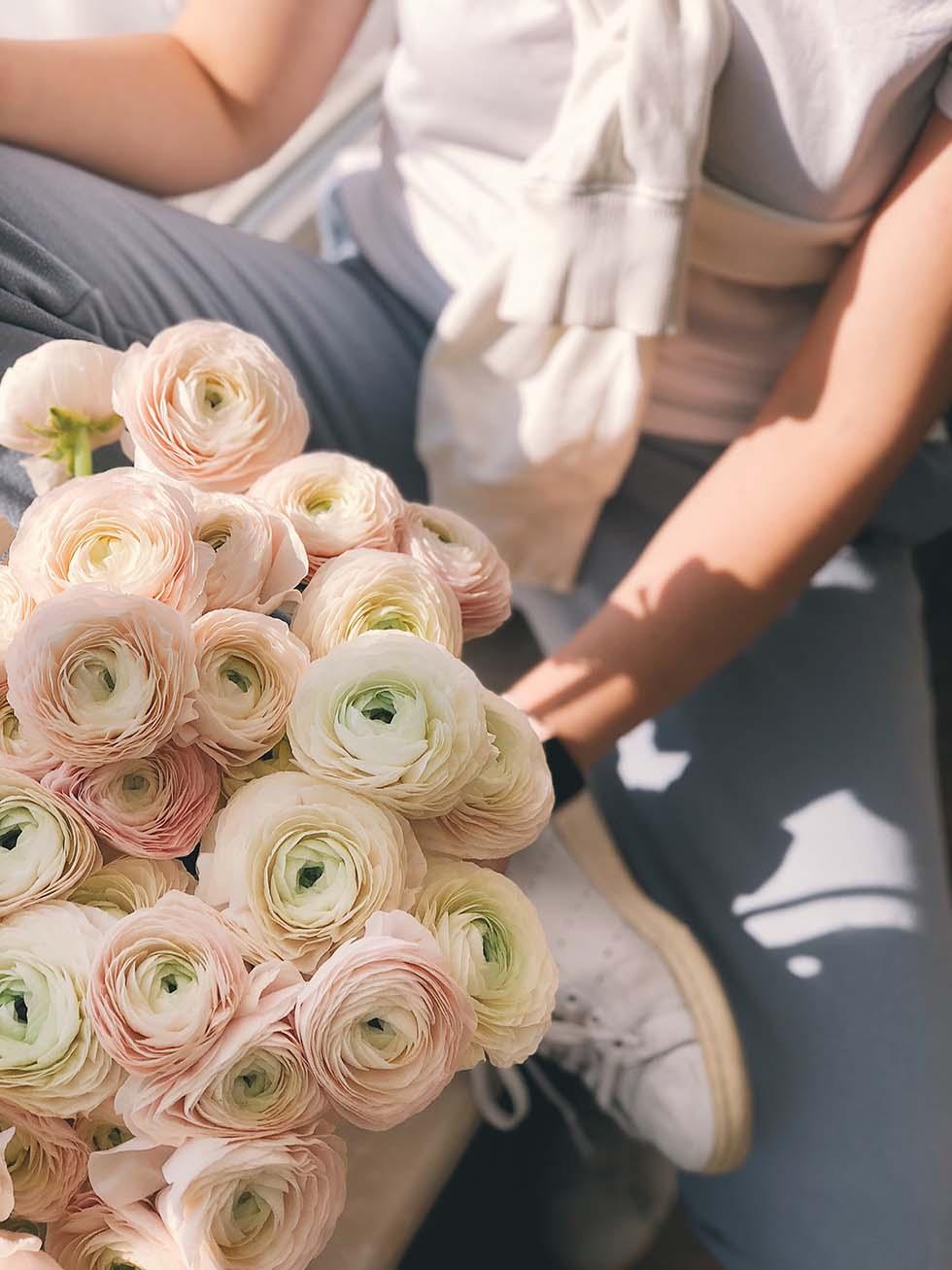 JGA Spiel Blumenverkäufer
