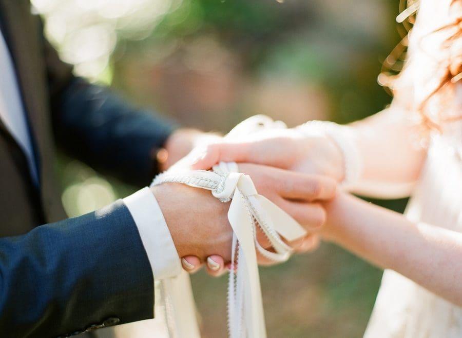 Knotenzeremonie Hochzeit