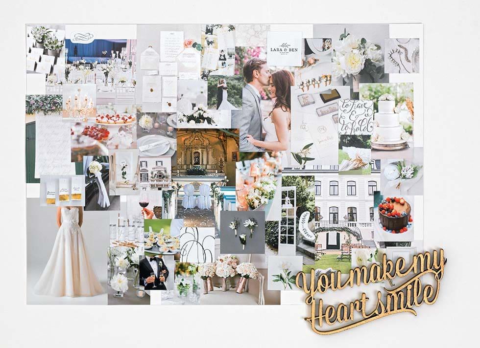 Moodboard Hochzeit Klassisch