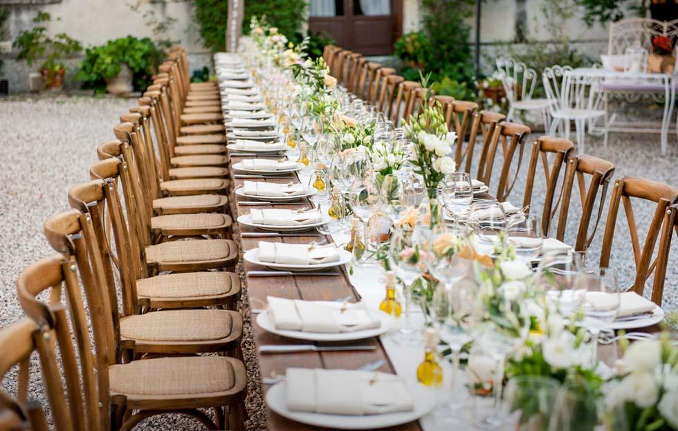 Talento Wedding Heiraten im Ausland Weddingplaner Tischdeko
