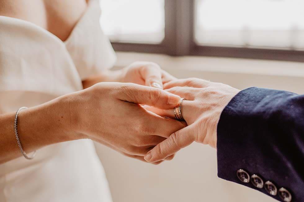 Trauring Zeremonie Hochzeit