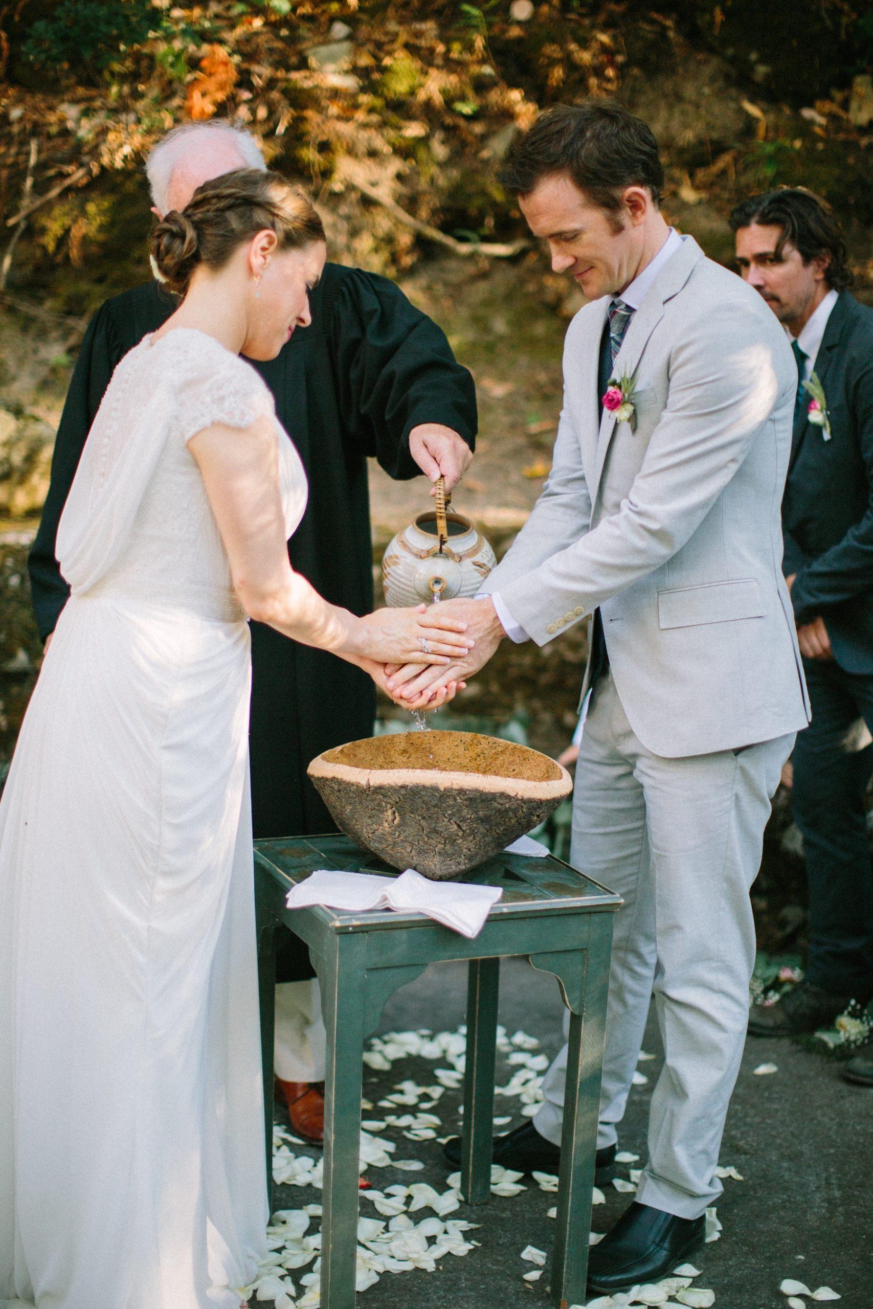 Handwasch-Zeremonie Hochzeit