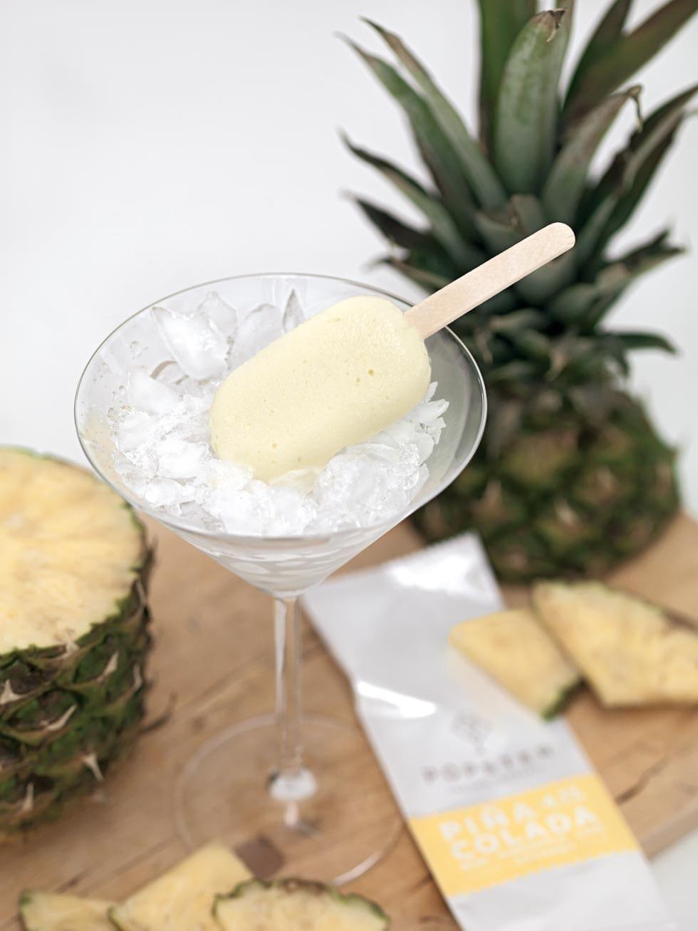 Pina Colada Eis Cocktails