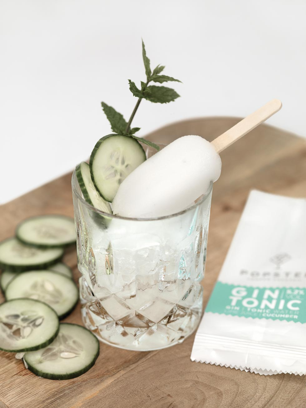 Gin Tonic Eis Cocktails