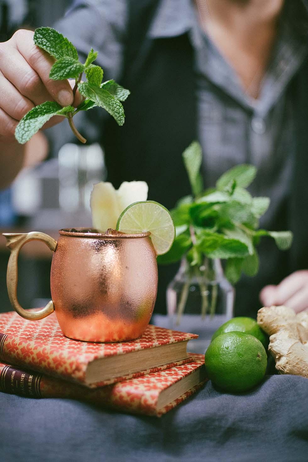 Cocktail Hochzeit Kräuter