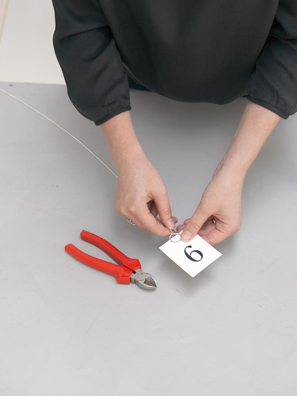 Kartenhalter selber machen