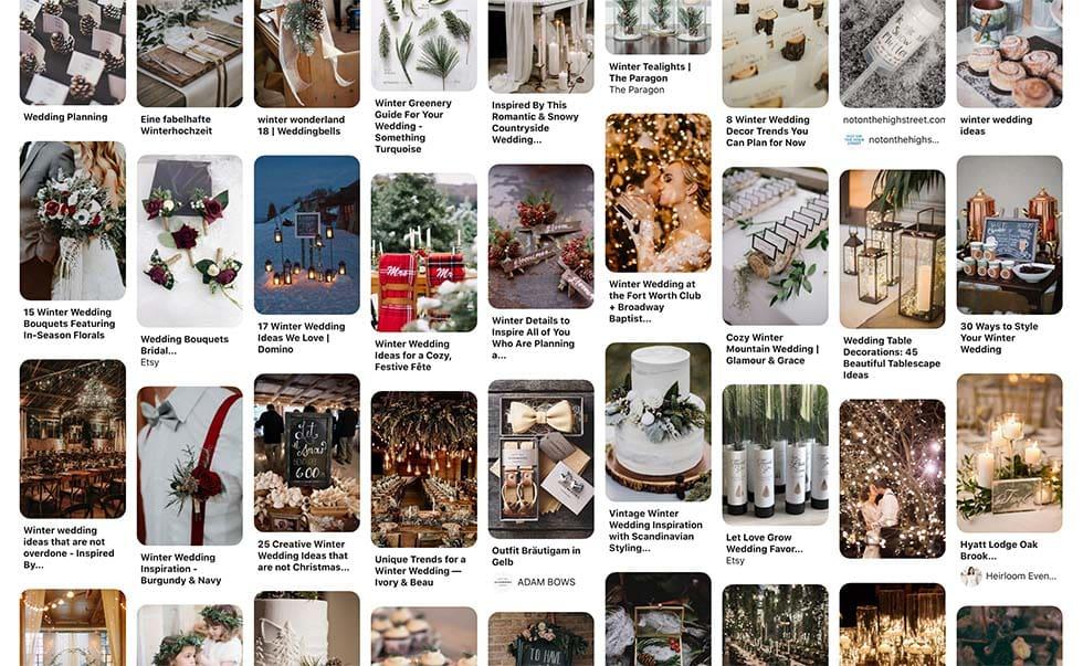 Moodboard Hochzeit Pinterest