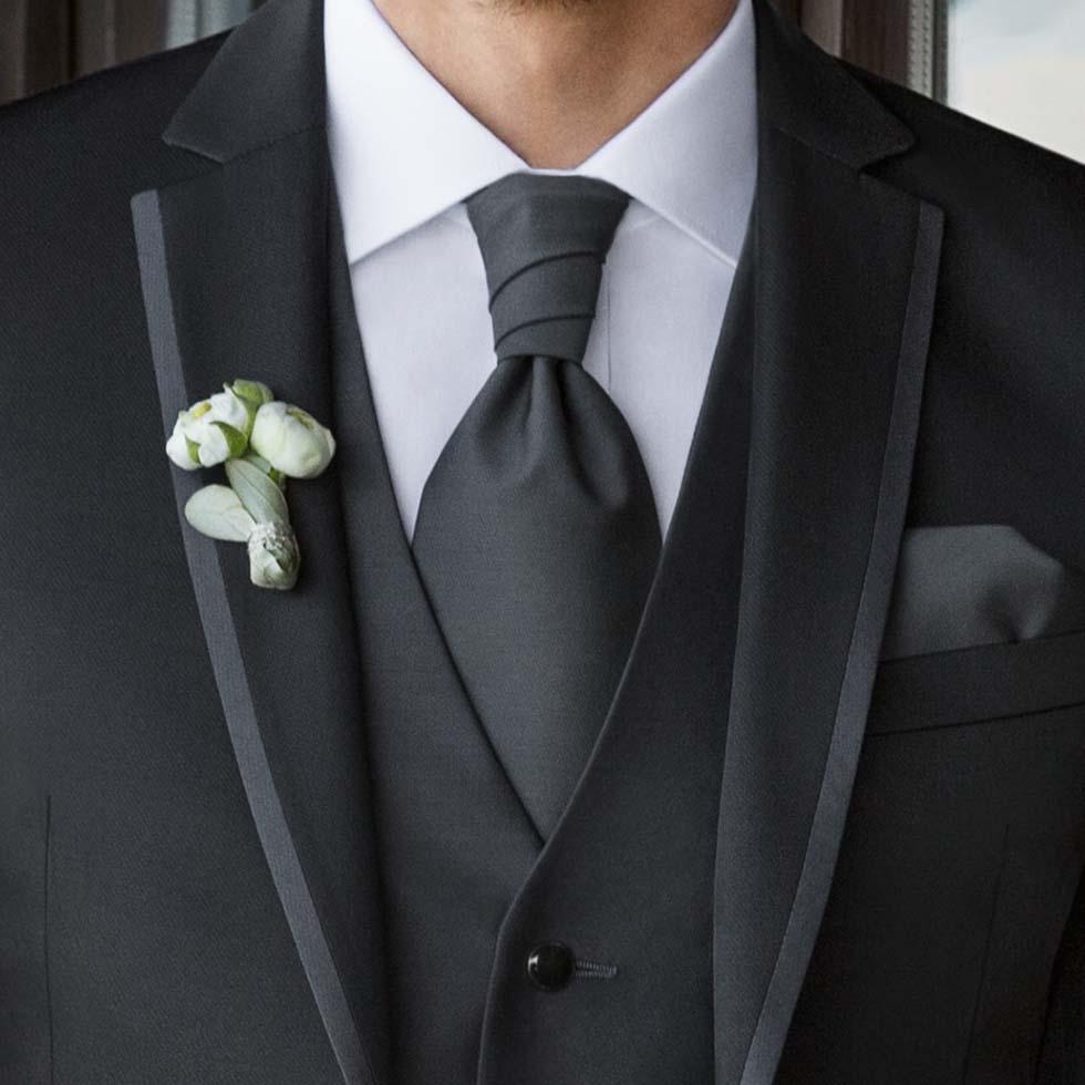 Hochzeitskrawatte Plastron
