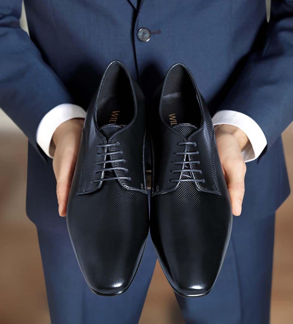 Hochzeitsschuhe Herren Blau