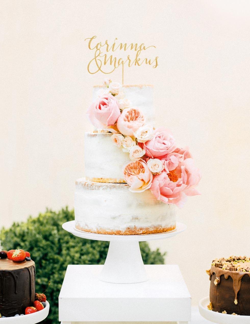Hochzeitstorte selber backen Anleitung