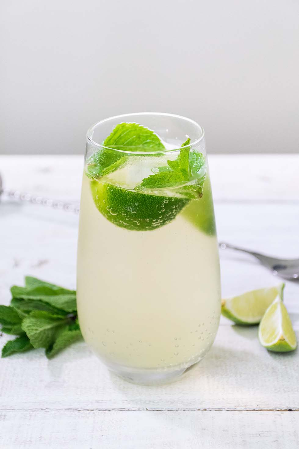 Limetten Limonade selber machen