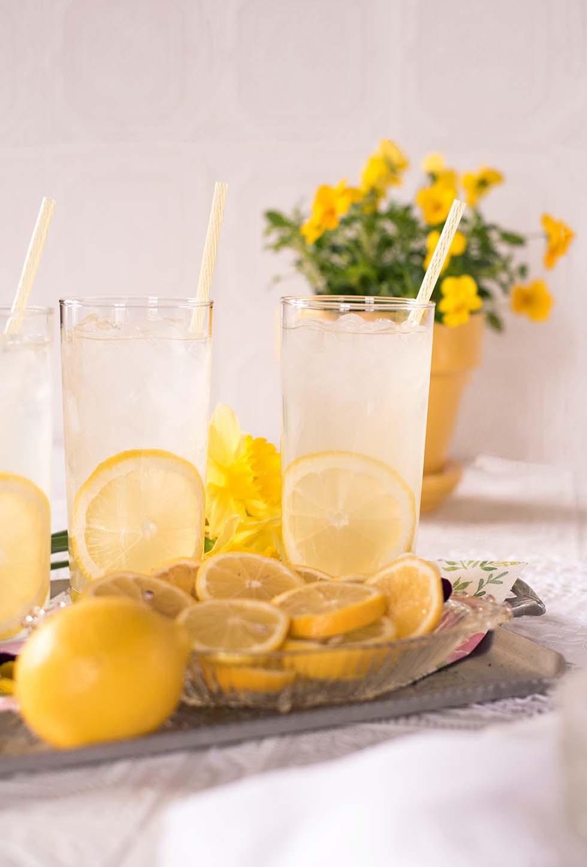 Zitronen Karamell Limonade selber machen