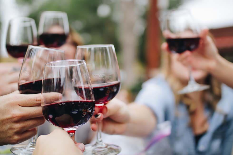 Geschenk Hochzeit Weinglas