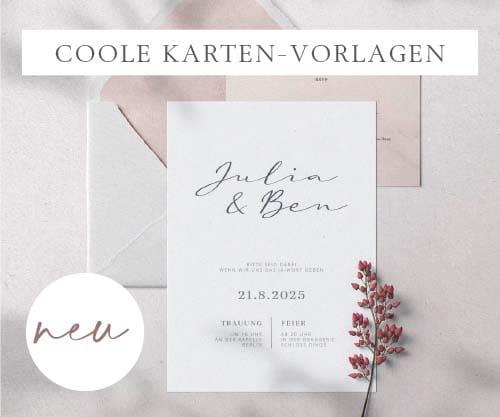 Einladung Hochzeit Handschrift