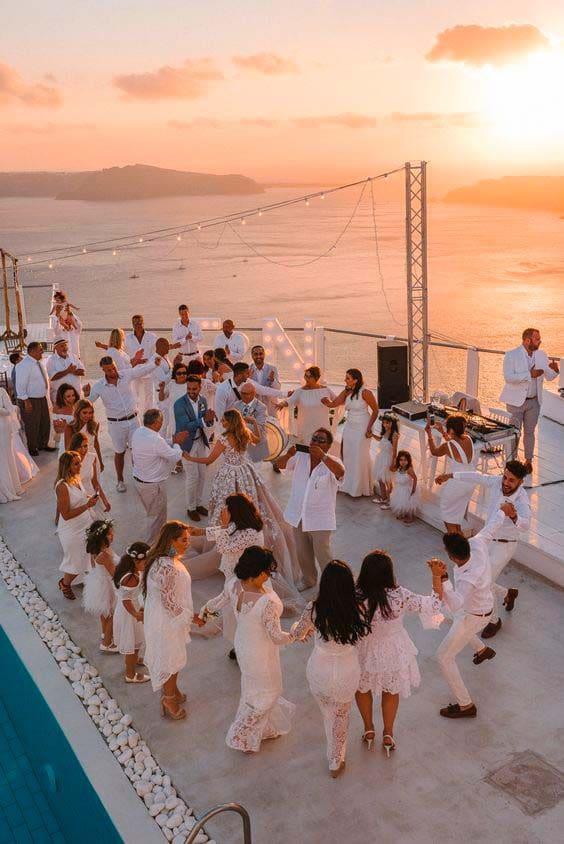 Hochzeit Schiff Feier