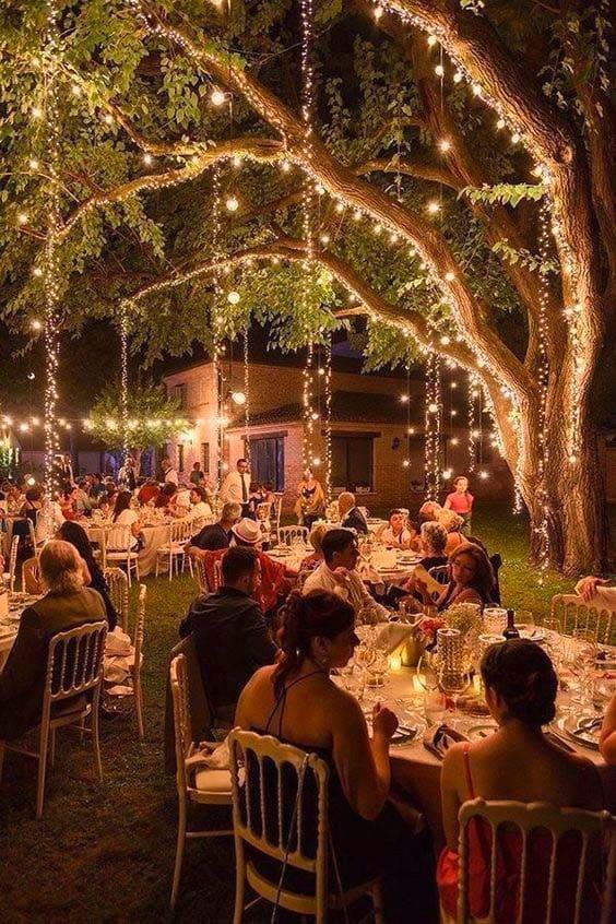 Hochzeitsfeier Wald