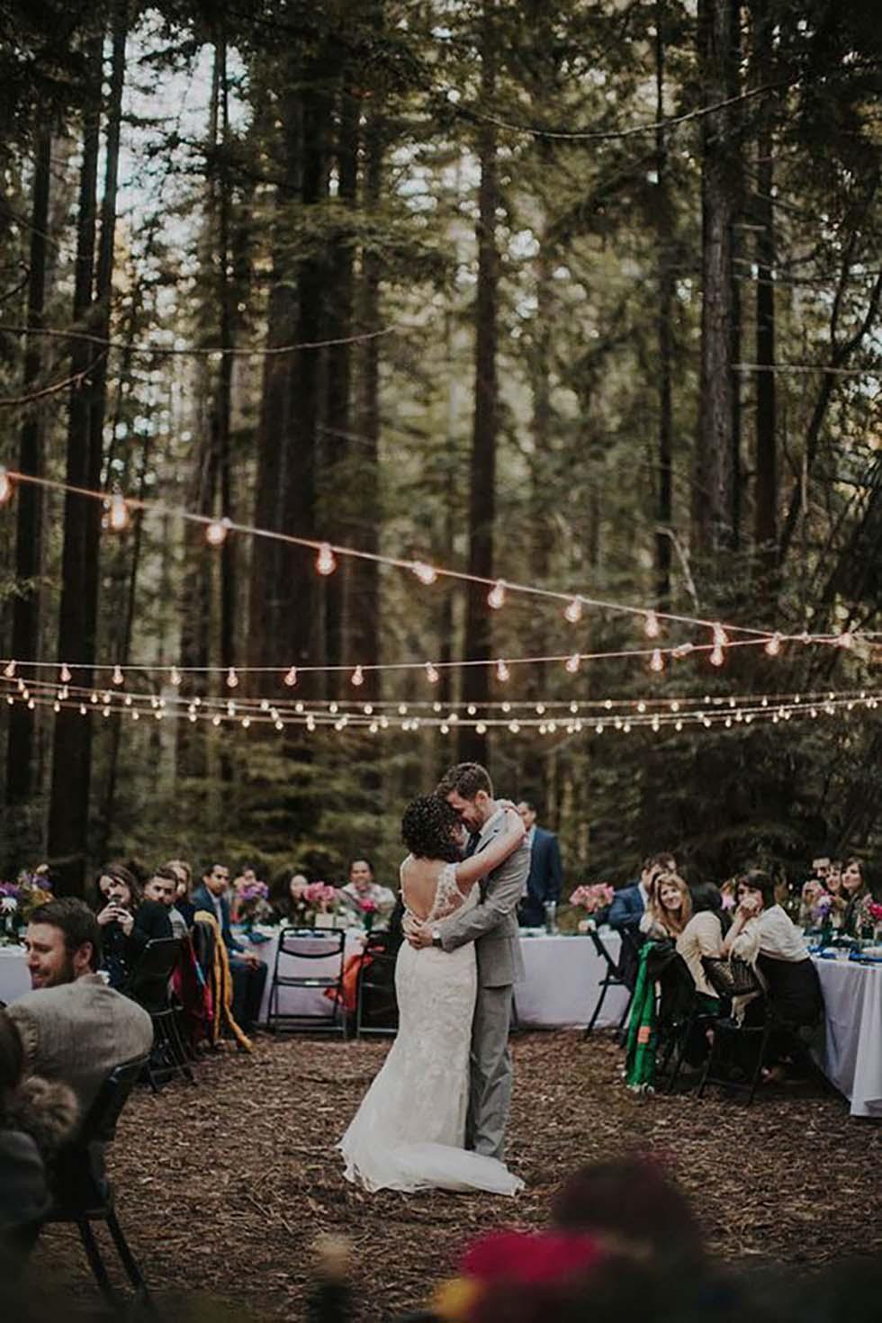 Hochzeitstanz Wald