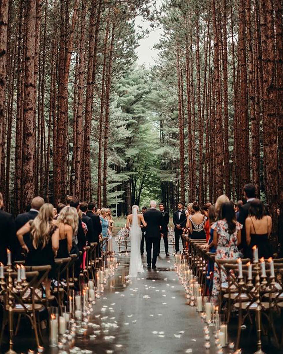 Trauung im Wald