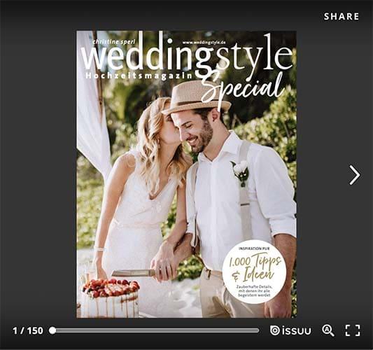 Hochzeitsmagazin weddingstyle