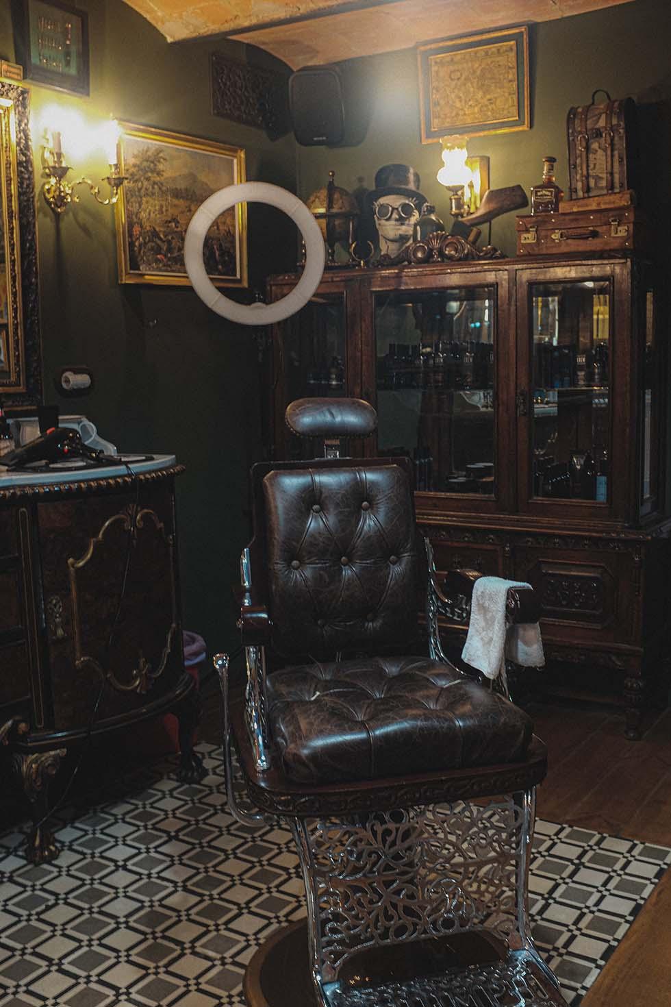 Barber Shop Hochzeit