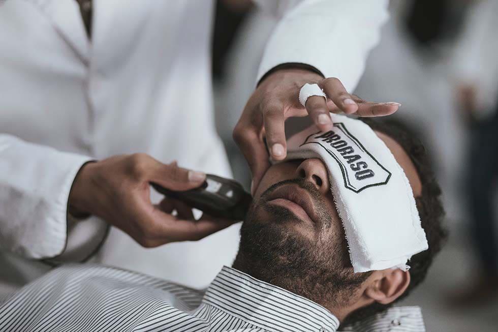 Bartpflege Barbier