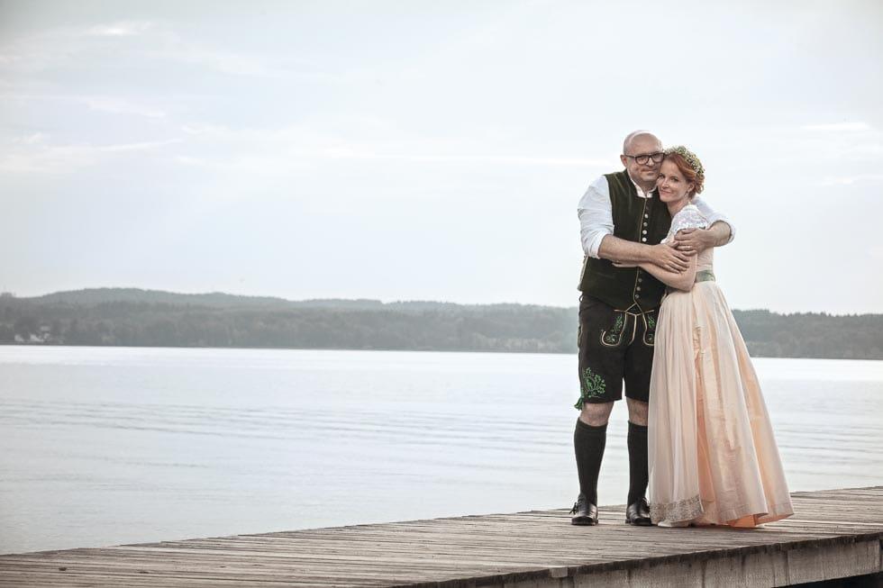 Hochzeit in Tracht Brautpaar