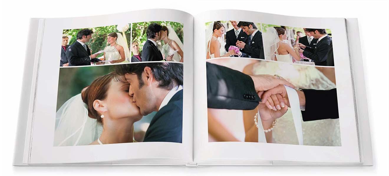 Hochzeitsalbum Beispiel