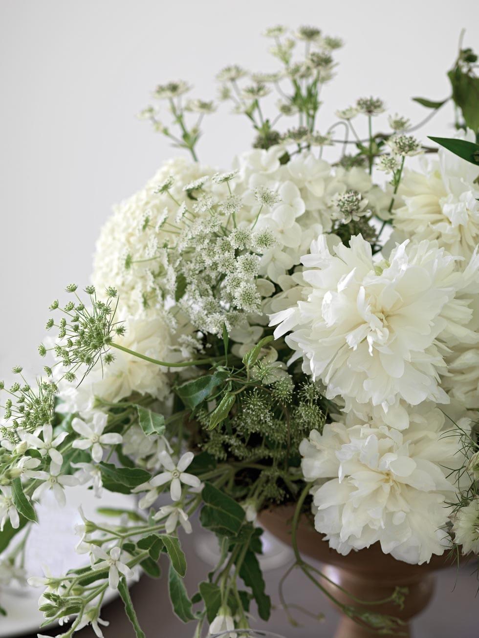 Tischdeko Hochzeit Blumengesteck