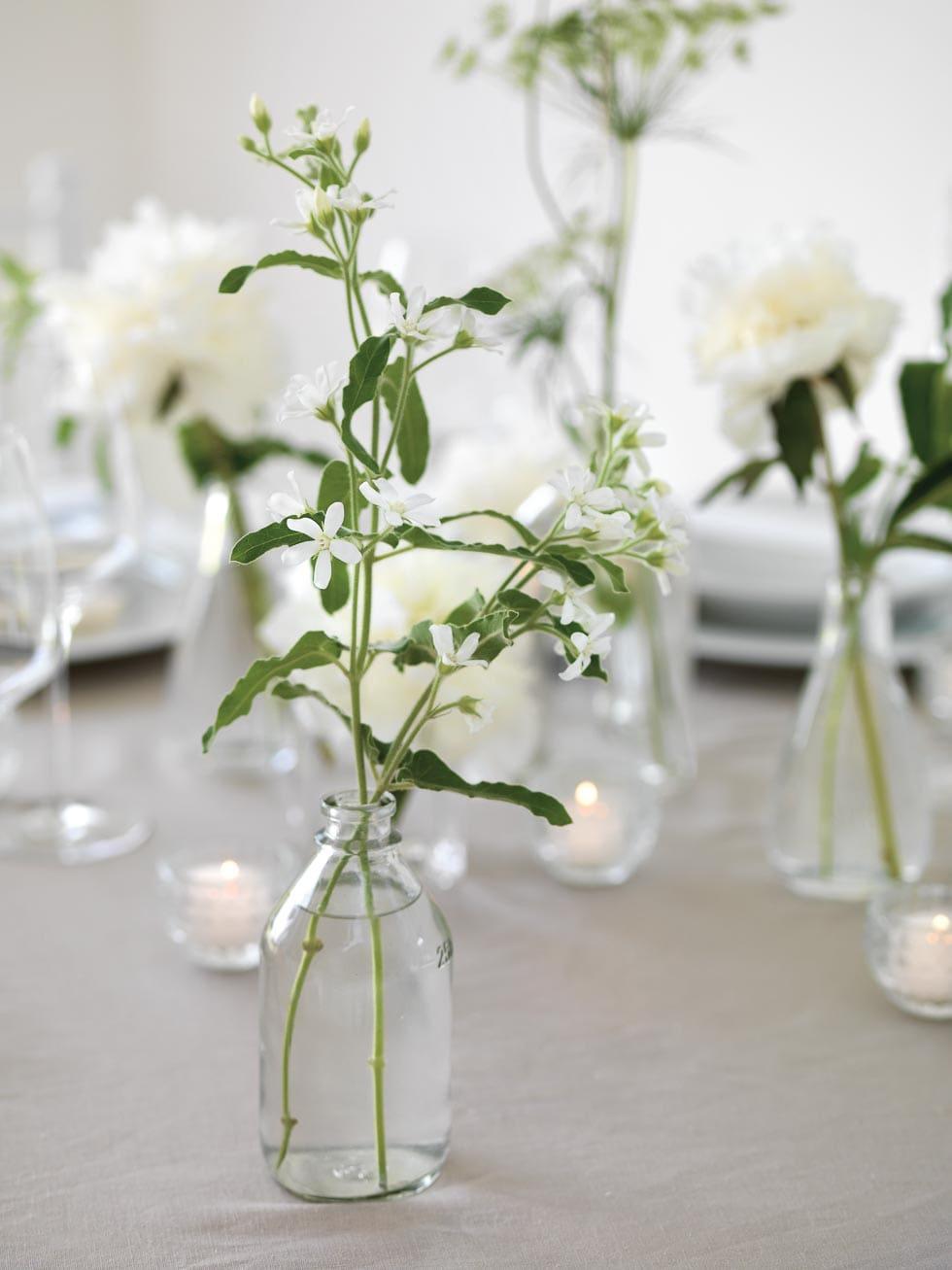 Tischdeko Hochzeit elegant